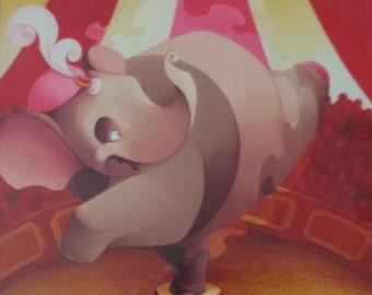 Balancing Act, Circus Elephant