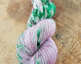 Hand Dyed Yarn - Mother's Day Violets