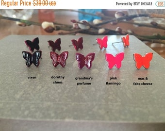 70% OFF BUTTERFLY >> Dorothy shoes red so cute you want to vomit.  but only unicorns and rainbows come out