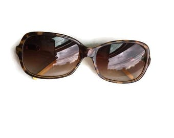 Vintage Hip Sunglasses Tortoise Shell Made in France