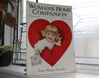 Antique Woman's Home Companion Magazine February 1916