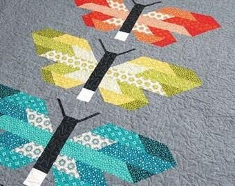 Frances Firefly Quilt Pattern by Elizabeth Hartman
