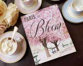 Paris in Bloom Paris Photography Book – Autographed by Photographer Georgianna Lane, Paris Flowers, Floral Photography, Paris Photography