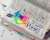 Bible Journaling Bible Verse Art Bible Verse Print great for faith journals Art Journal Heart Arrow Life Proverbs 4:23