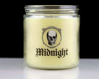 Large Scented Candle - Midnight - Halloween Collection