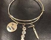 Audiology adjustable bracelet, great for a gift