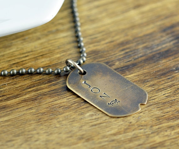 dog tags for men dog tag necklace mens necklace fathers day. Black Bedroom Furniture Sets. Home Design Ideas