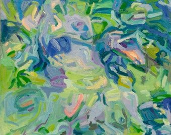 Verde - Modern Abstract Expressionist Painting