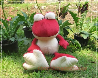 Froggy frog 25inches - PDF Sewing pattern
