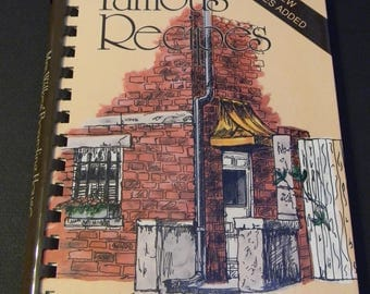 Famous Recipes from Mrs. Wilkes' Boarding House in Historic Savannah, vintage cookbook