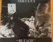 "Nirvana, ""Bleach"" New Sealed  Vinyl lp record album, Kurt Cobain"