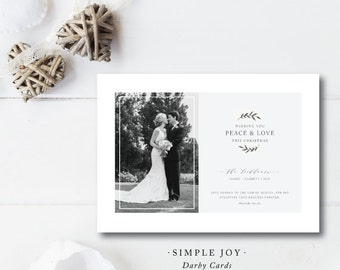 Simple Joy Christmas Cards