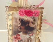 Vintage Style, Mini, Junk Journal, Soft Cover