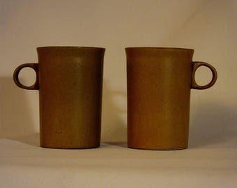 Pair Bennington Espresso Cups in Mustard