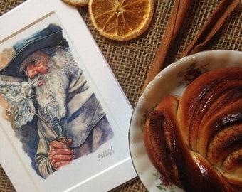 Tolkien Gandalf Print - Free Worldwide Shipping