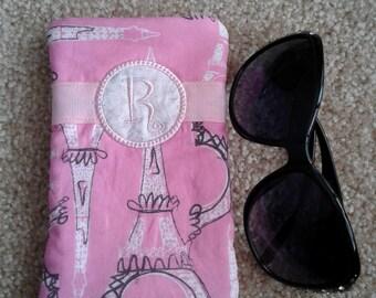 R - Eye glass case, eyeglass holder, Sunglasses
