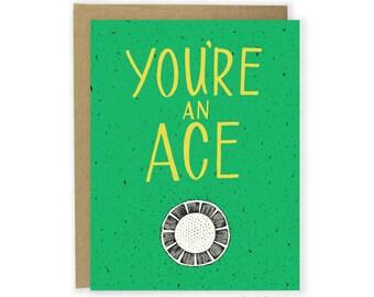 Golf Card - You're An Ace Card