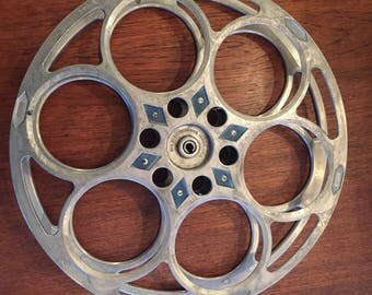 Vintage Film Reel By Goldberg Brothers Denver, Colorado