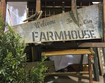 Welcome to our Farmhouse Nebraska Windmill Blade/ Painted Windmill Blade/ Rustic Farmhouse Decor