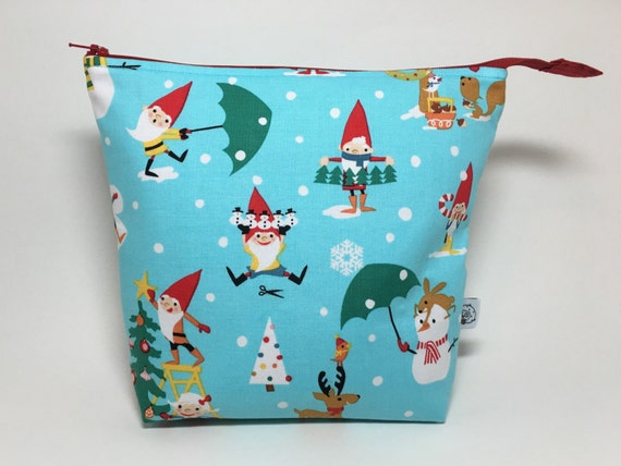 Knitting Project Bags For Sale : Sale medium zipper top knitting crochet project bag