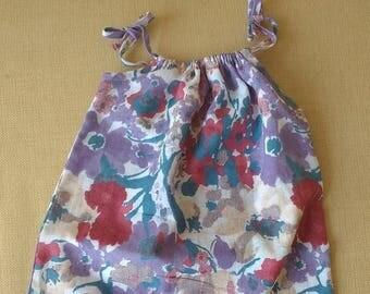 pillowcase dress pima gauze baby dress boho pillowcase summer dress