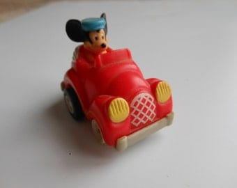 Mickey Mouse Pull-Back to Wind Miniature Car