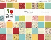25% Off SALE Wishes Charm Pack by Sweetwater for Moda - One Charm pack - 5530PP