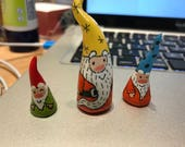 Three sweet gnomes for Chris