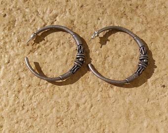 Vintage Hooped Earrings