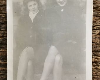 Original Vintage Photograph They're Selling Nylons Again 1946