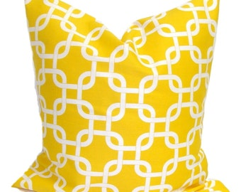 Yellow Pillows, Yellow Pillows, Yellow Pillow Cover, Decorative Pillow, Yellow Throw Pillow, Yellow Pillow, All Sizes, Yellow Euro, Cushion,