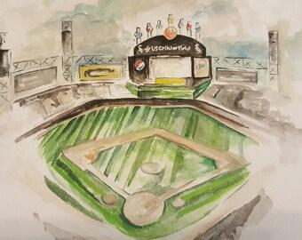 8 x 10 Custom Baseball/Football Stadium