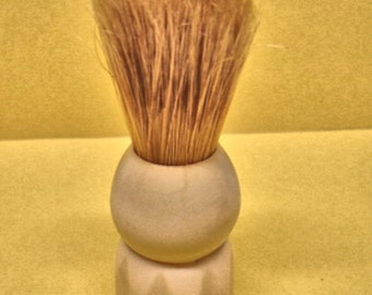 Vintage Men shaving Ever Ready 100 Ivory Color Handle Mens Brushes Lot no. 310