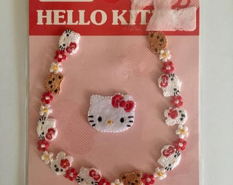 Sanrio Hello Kitty Official License Japan Iron on Patch