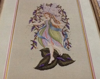 WISTERIA FAIRY - Cross Stitch Pattern Only