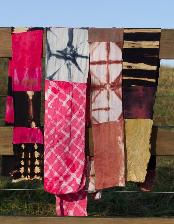 Shibori Scarves