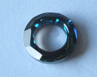 1 SWAROVSKI 4139 Cosmic Ring Crystal 20mm BERMUDA BLUE