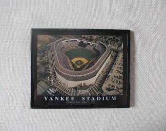 Yankee Stadium Framed Print Opening Day April 7 1992  8 x 10