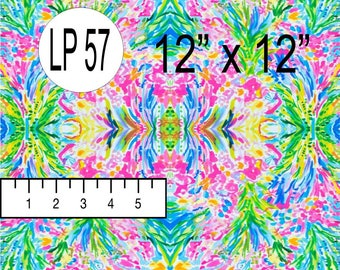 FAN SEA PantS (LP-57) Inspired by Lilly Pulitzer Pattern Vinyl - Top Quality Commercially Printed