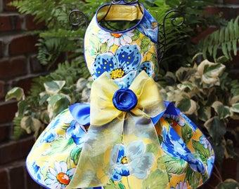 SAMPLE SALE:  Garden Party 2016 Dog Dress