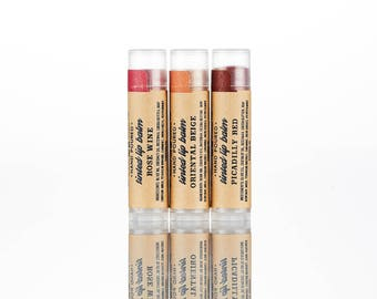 Lipstick Handmade, Natural, red lipstick, organic lip balm, lavender lip balm, peppermint, essential oil, sasha, moisturizing, chap, chapped