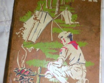 Boy Scout Field Field Book 1948 Edition  /  Taken Out On The Field A Lot / Free Shipping