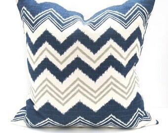 Navy pillow, Blue Pillow Covers, Decorative Pillows, Gray pillow, Gray Pillow cover, Accent Pillow, Throw Pillows, Toss pillows