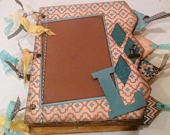 8x10 Little Boy Handmade Scrapbook Album