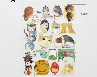 Cats Rabbit Cars Animal Offset Printing Iron On Transfer Hot Flocking Tape Sticker Plate Backing Painting