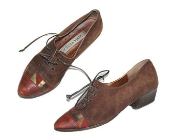 1980  oxford Shoes italian  us7 fr38