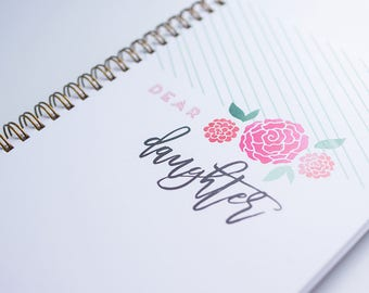 Notebook: Letters to my child // Letters to My Daughter Notebook // Letters to My Baby Notebook // Letters to My Son Notebook
