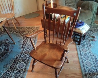 Ethan Allen arm chair/dining chair