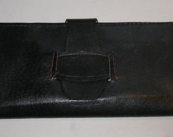 Large Victorian / Civil War Leather Wallet