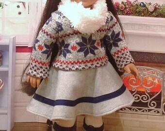 Winter Wonderland 5 Piece Set for American Girl